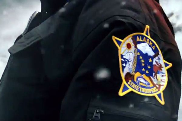 The emblem of the Alaska State Troopers. (YouTube screengrab)