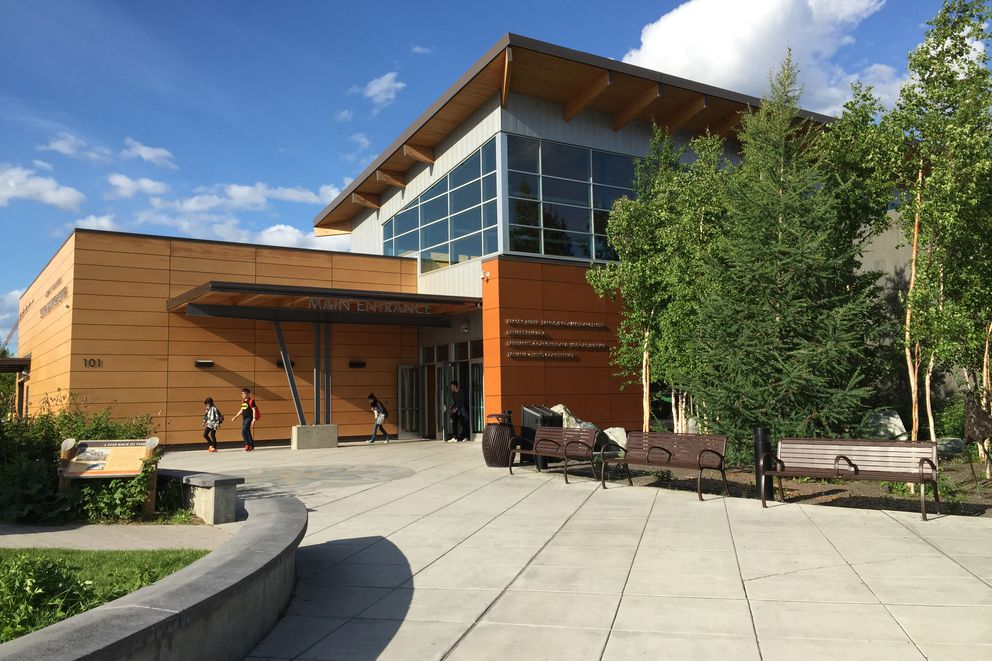 The Morris Thompson Cultural and Visitors Center is located downtown along the Chena River in Fairbanks. (Erik Hill / ADN)