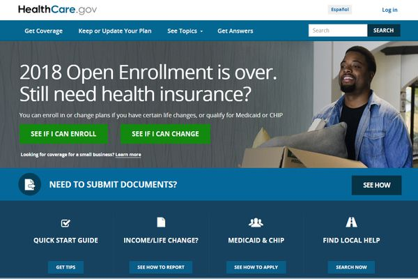 A total of 18,313 individuals in Alaska signed up for 2018 health insurance plans on the federal website, HealthCare.gov, during this year's six-week enrollment window that ended Dec. 15. (HealthCare.gov)