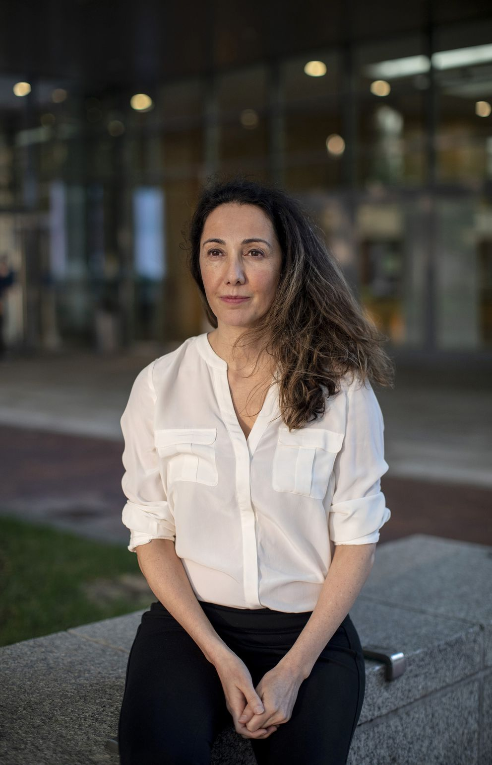 Pardis Sabeti is a computational geneticist who runs the Sabeti Lab, which uses genomics to study how diseases and humans evolve and adapt. (Photo for The Washington Post by Brianna Soukup)