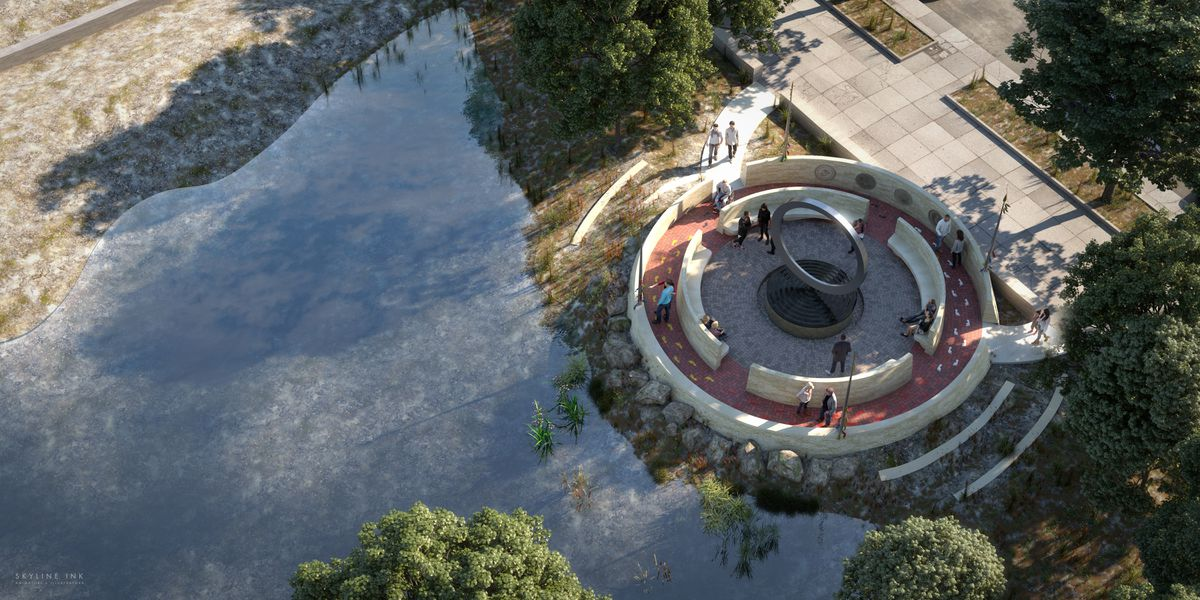 The national memorial to Native American veterans will be built on the grounds of the National Museum of the American Indian. (Photo courtesy of the National Museum of the American Indian)