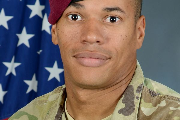 Staff Sgt. James Alcorn was killed in a high-speed motorcycle crash in Anchorage on Saturday, Oct. 6, 2018.