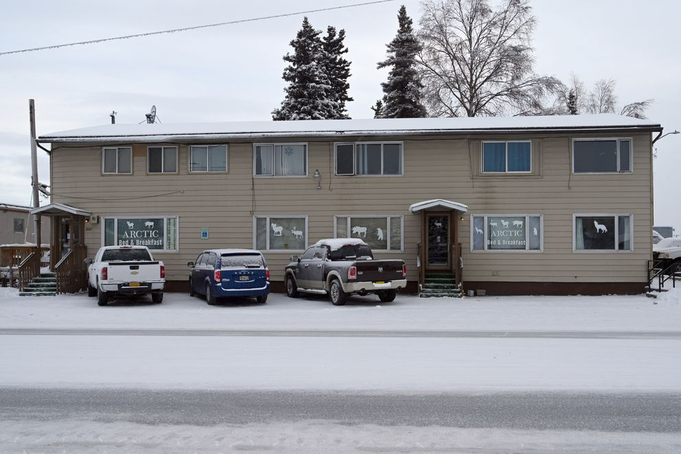 Arctic Bed and Breakfast is on Arctic Blvd, between Northern Lights and Fireweed Lane. (Anne Raup / ADN)