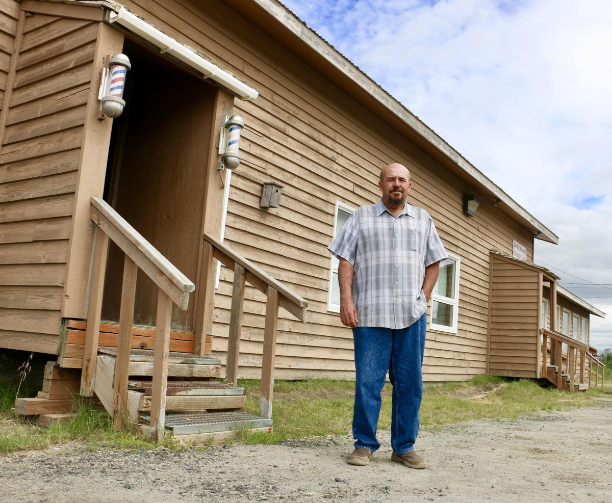 ALASKAbuds owner Nick Miller has signed a lease on Bethel's Third Avenue, where he hopes to open the Yukon-Kuskokwim Delta's first cannabis shop in January 2019. (Anna Rose Macarthur / KYUK)