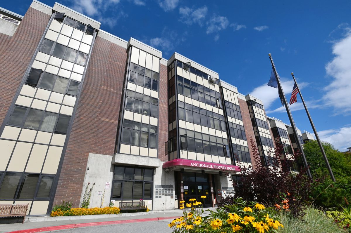 Anchorage Pioneer Home on August 26, 2020. (Bill Roth / ADN)