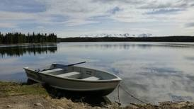 Try out Seven Lakes Trail for some flat, waterfront Alaska hiking