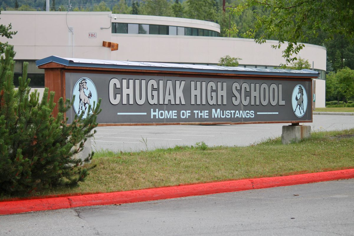 Chugiak High School, 2018 (ADN archive)
