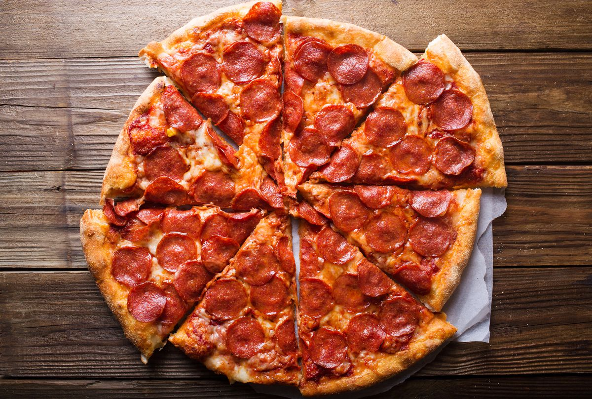Pepperoni pizza (Getty Images)