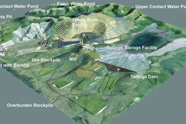 A final environmental impact statement for the Donlin gold mine is nearing release after five years of work (Donlin Gold)