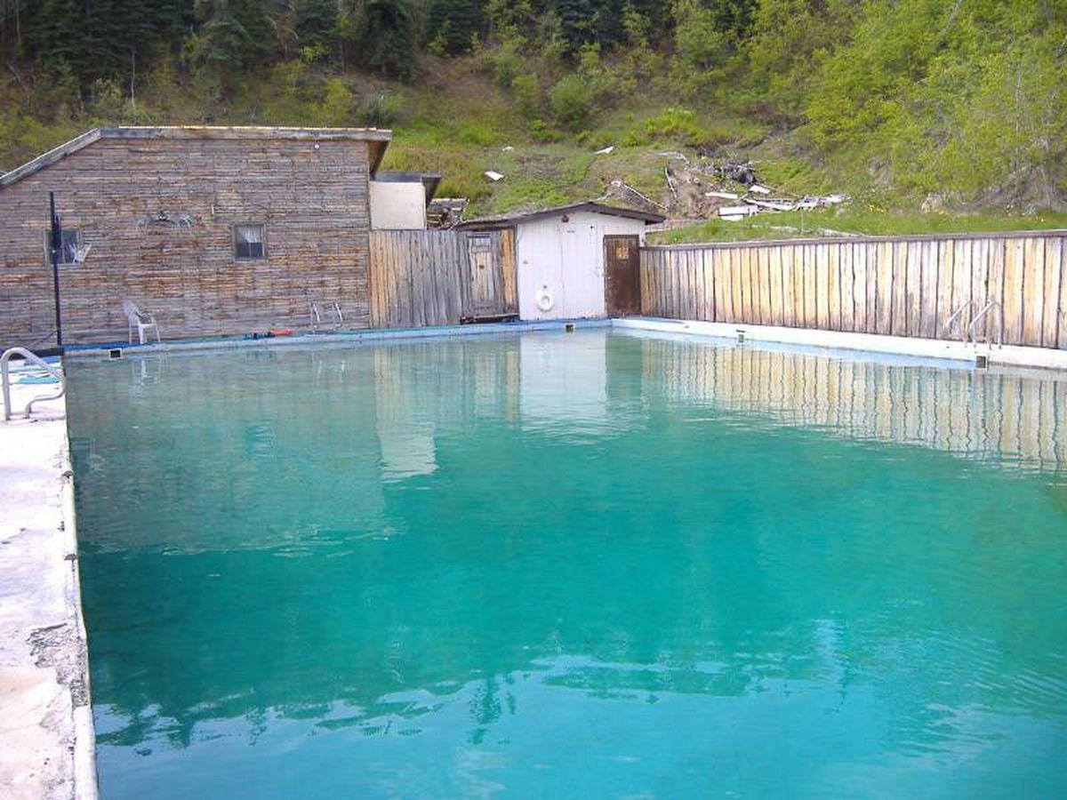 Photos: Interior Alaska hot springs resort goes up for sale on