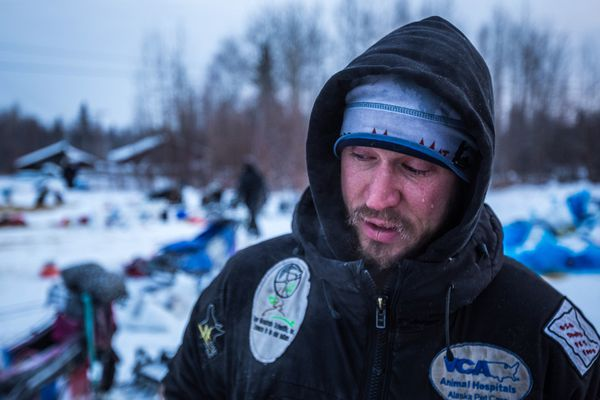 Brent Sass of Eureka regained the Yukon Quest lead Sunday morning.