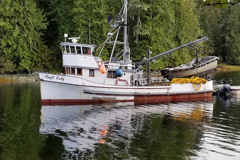 Commercial fisherman Curtis Demmert has been ordered to forfeit his fishing vessel, the Tlingit Lady, along with nets, the skiff and other gear, as part of his punishment for fishing in a closed season and closed waters. (Photo provided by state Office of Special Prosecutions)