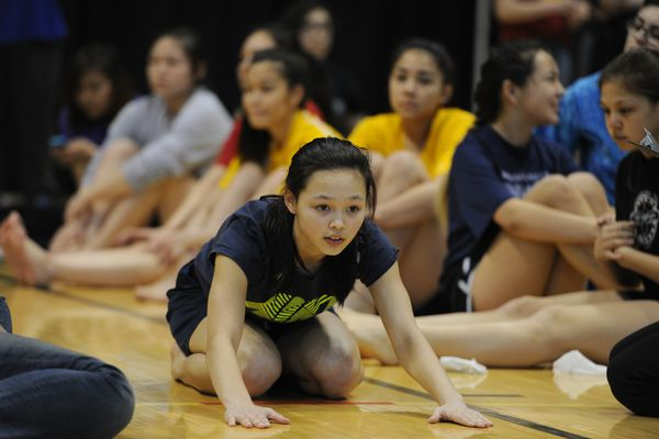 Native Youth Olympics Anchorage Daily News