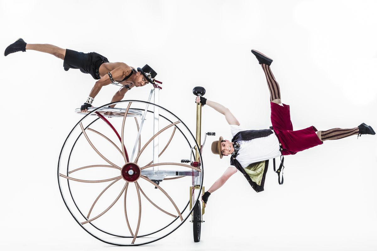 Cirque Mechanics will perform in Anchorage this Friday and Saturday, April 7-8