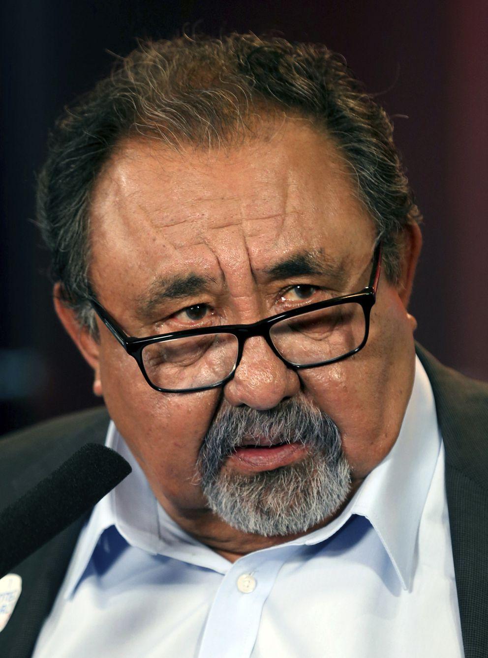 This Oct. 17, 2018 file photo shows U.S. Rep. Raul Grijalva, D-Ariz. (Kelly Presnell/Arizona Daily Star via AP, File)