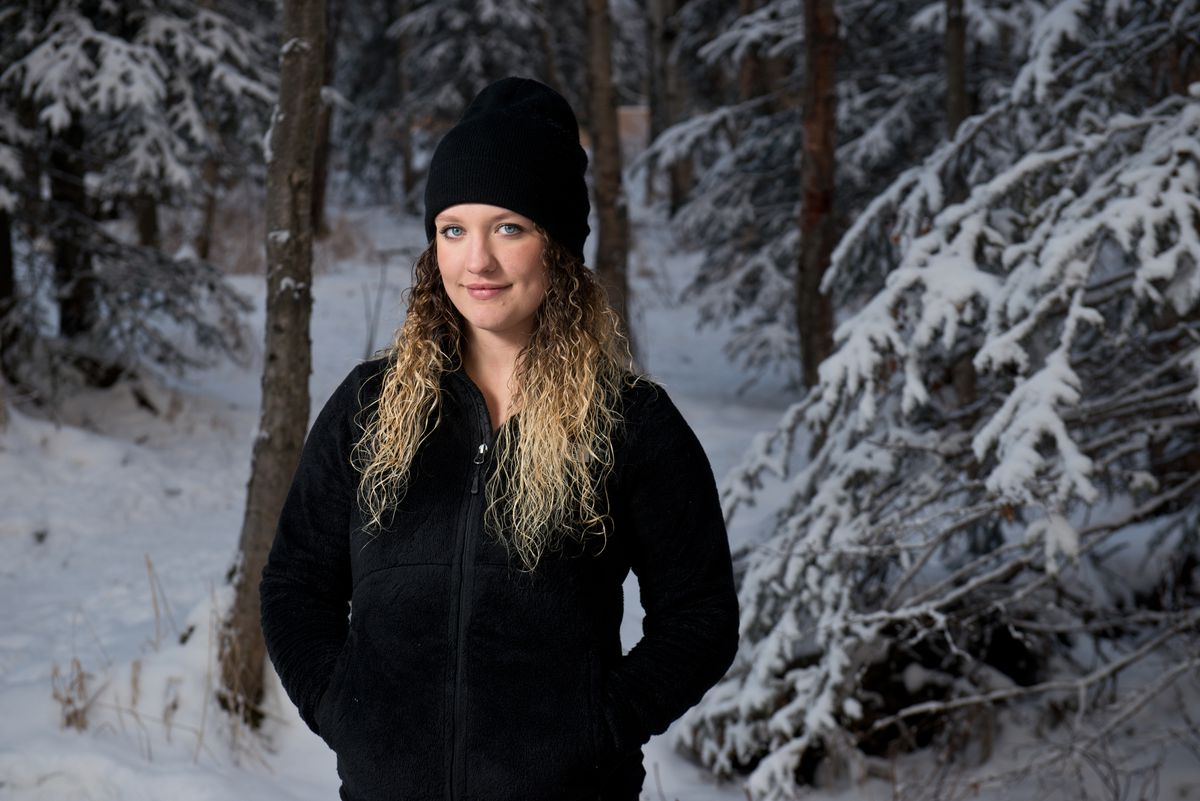 U.S. Ski Team snowboardcross racer Rosie Mancari of Anchorage made the jump to the World Cup circuit this season. (Marc Lester / Alaska Dispatch News)