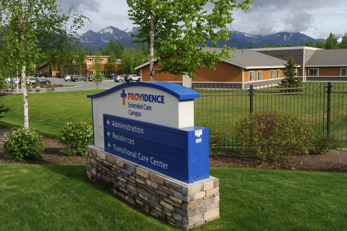 Twelve of the twenty-seven confirmed COVID-19 cases reported on Sunday, May 31, 2020, were at the Providence Transitional Care Center off Boniface Parkway in East Anchorage. (Bill Roth / ADN)