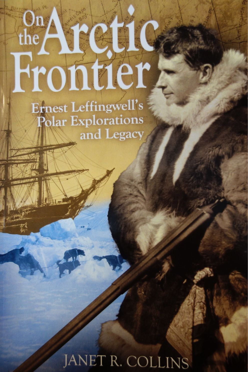 The cover of Janet Collins's new book about Ernest Leffingwell.
