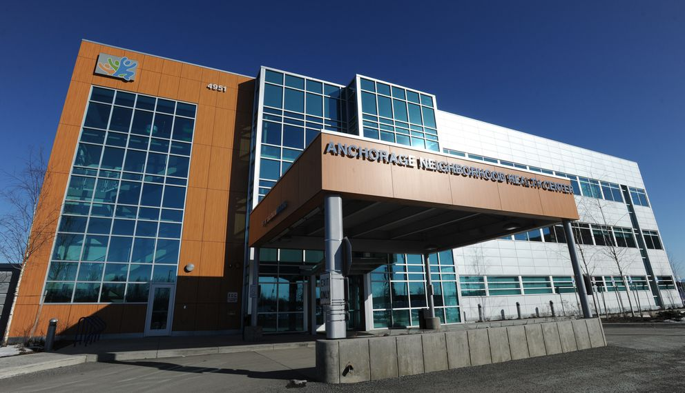 Anchorage Neighborhood Health Center in April 2014. (Bill Roth / ADN archive)