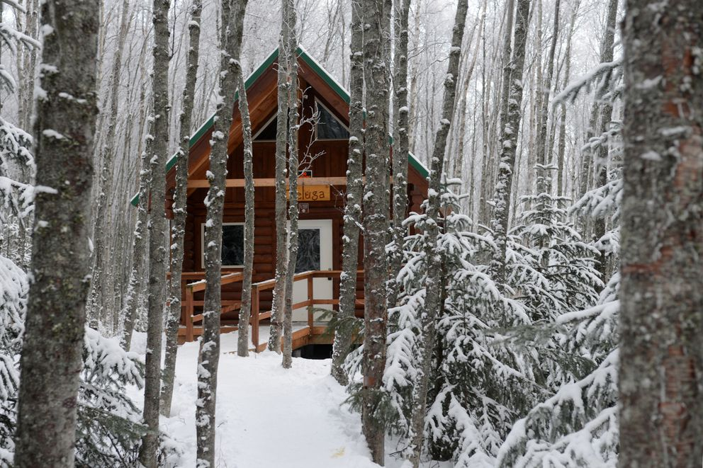 Now 39 s the ideal time to book a public use cabin for a for Alaska cottage
