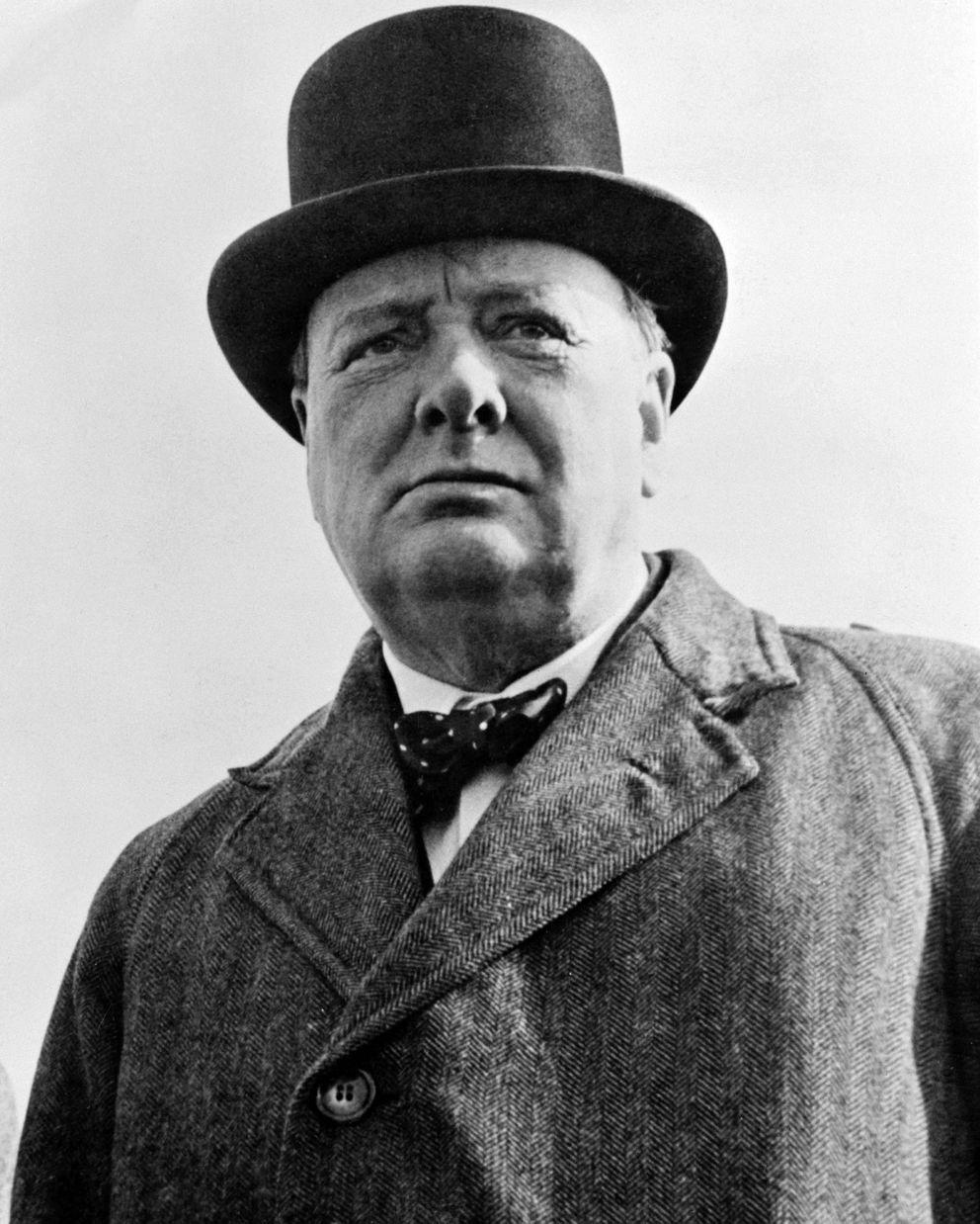 Sir Winston Churchill in 1942 (U.S. Library of Congress)
