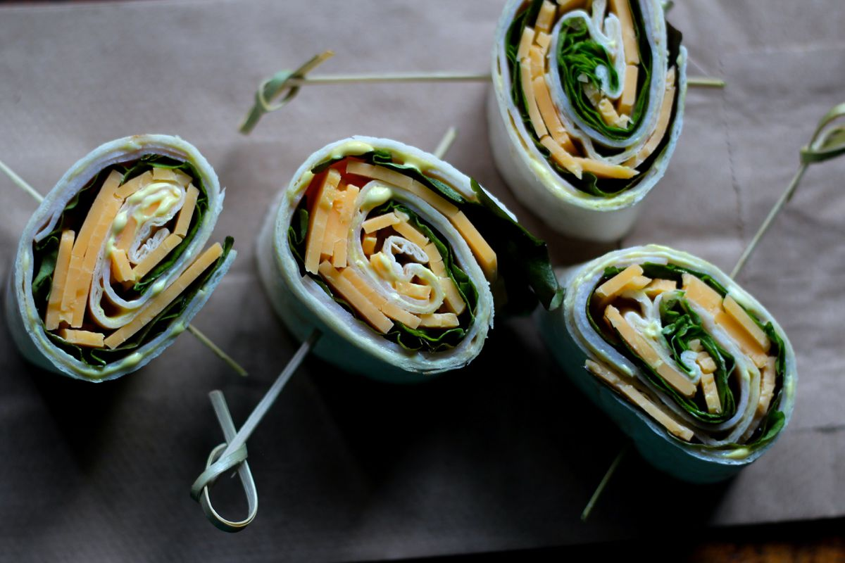 Turkey sandwich roll-ups (Maya Wilson / Alaska from Scratch)