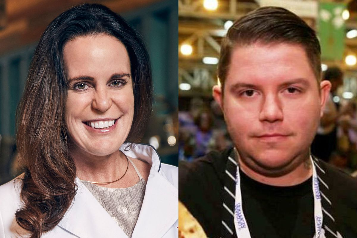 Laura Cole and Beau Schooler are semifinalists for James Beard awards 2019. (Cole photo by Tommy Garcia / Bravo, Schooler photo provided by Jill Weitz)