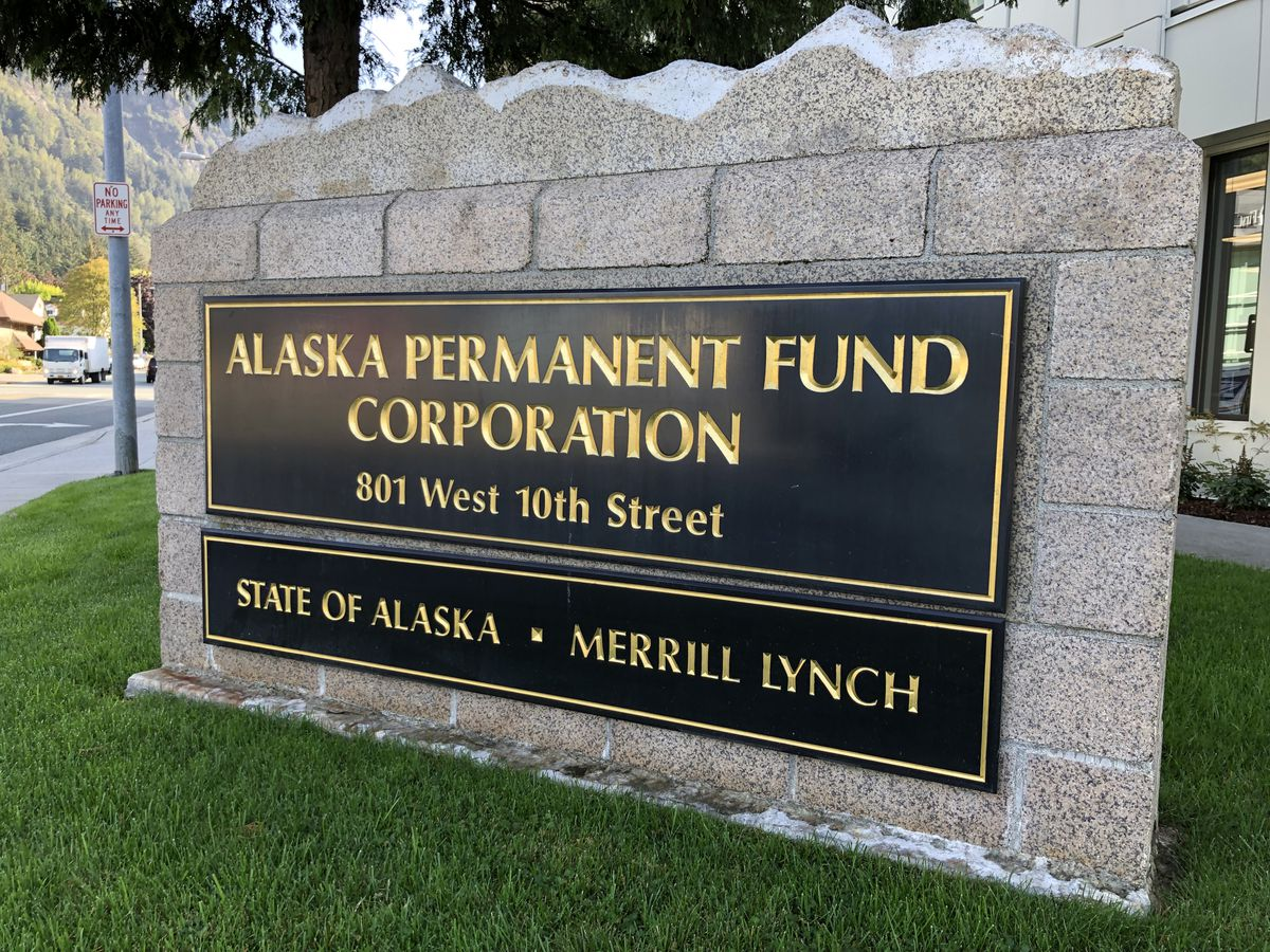 The offices of the Alaska Permanent Fund Corporation in Juneau. (ADN archive)
