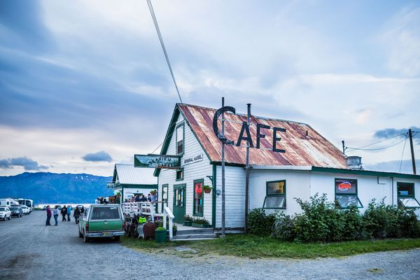 The Seaview cafe in Hope on July 6, 2012. (Loren Holmes / Alaska Dispatch News)