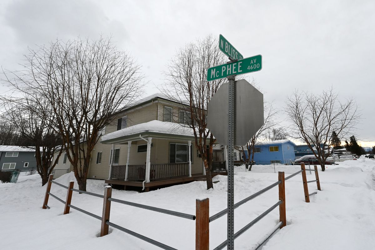 Bliss Street in Mt. View was named after a contractor named Harry Bliss. Photographed on Sunday, Jan. 17, 2021. (Bill Roth / ADN)