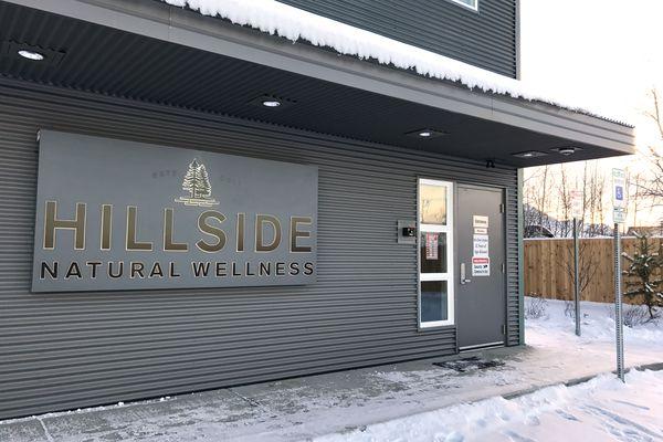 Hillside Natural Wellness, a cannabis retail shop in South Anchorage, opened Jan. 13, 2018. (Annie Zak / ADN)