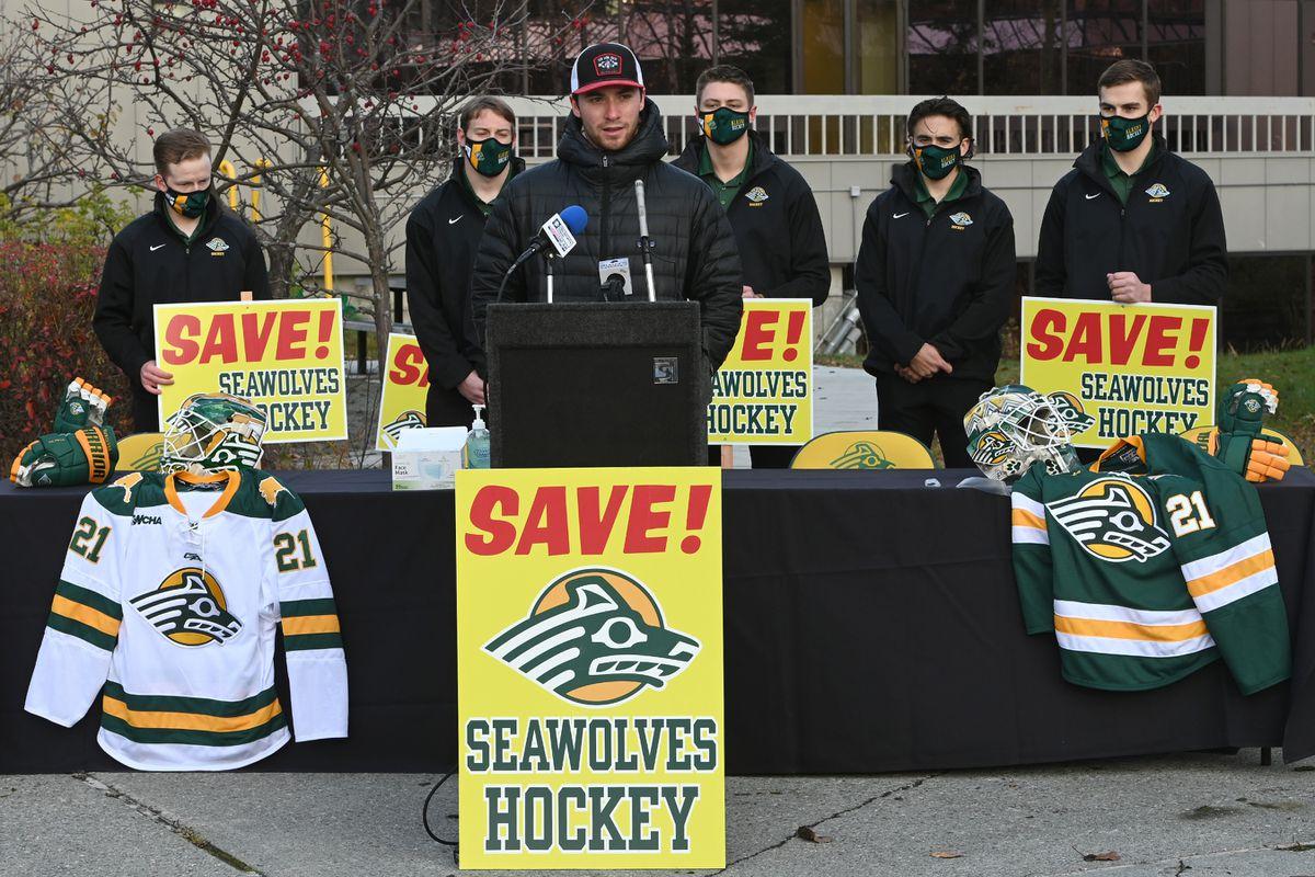 UAA Save Seawolf Hockey group