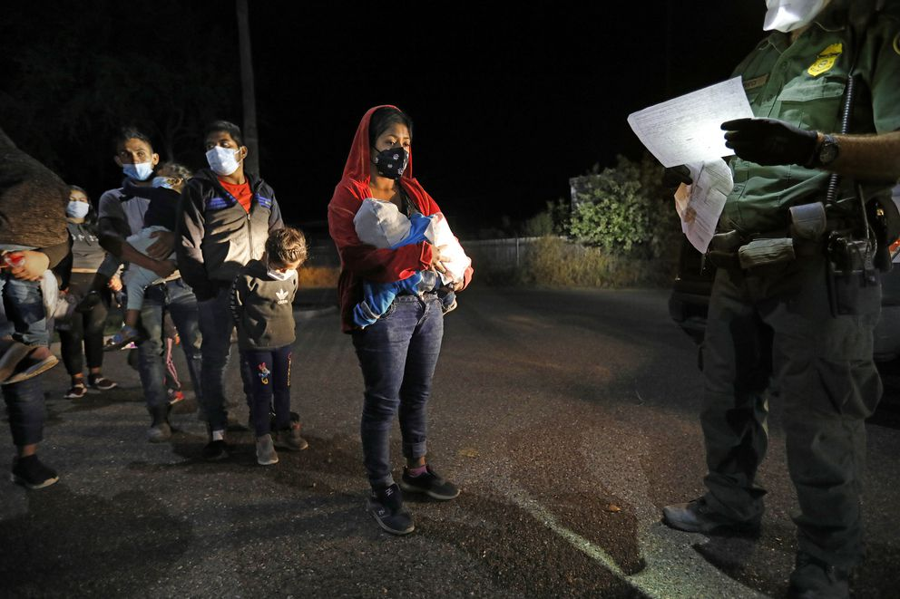 Asylum seekers are only allowed to bring a few personal items, such as cell phones and chargers and documents. Most everything else must be discarded. Seen on Thursday, March 18, 2021 in Roma, Texas. (Carolyn Cole/Los Angeles Times/TNS)