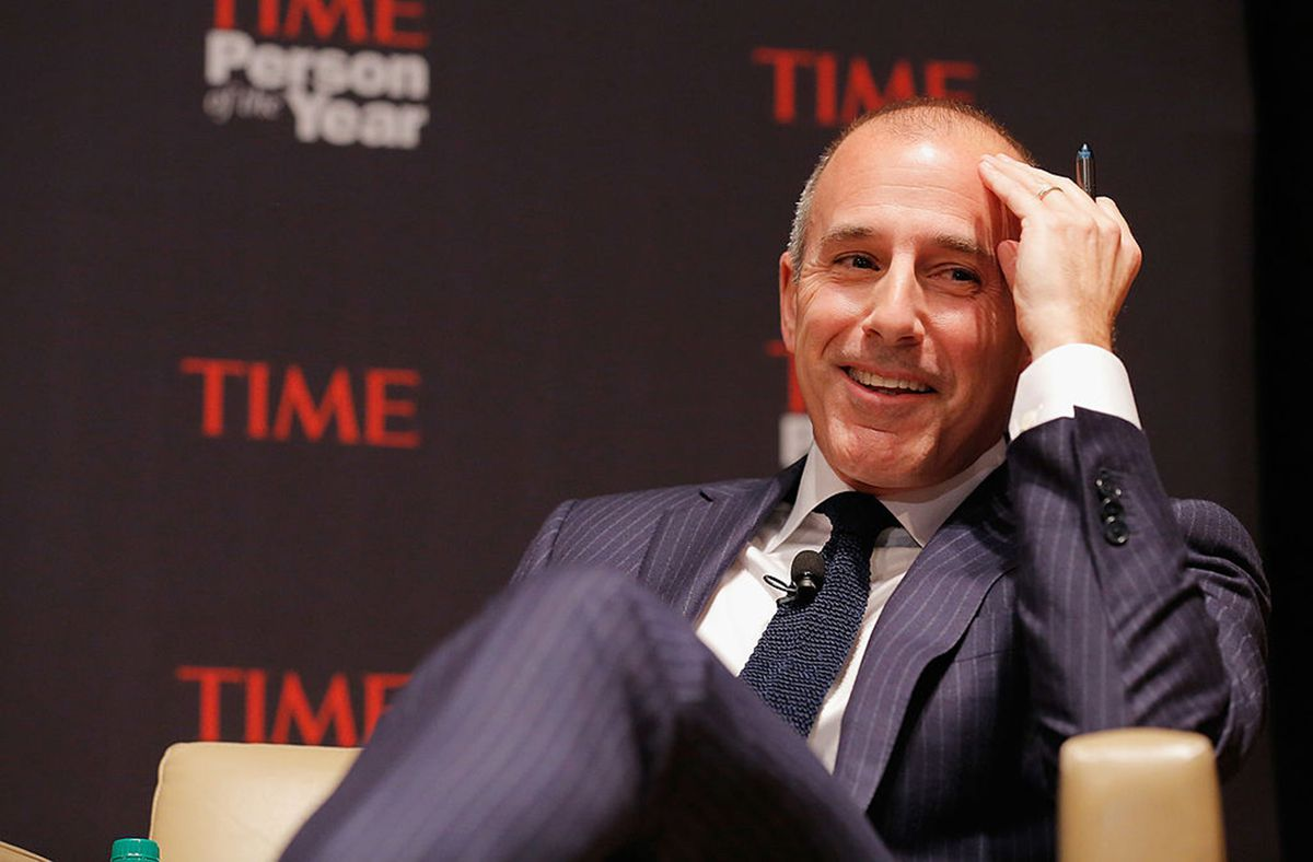 Matt Lauer attends TIME's Person of the Year panel on November 13, 2012 in New York City. (Jemal Countess/Getty Images for TIME/TNS)