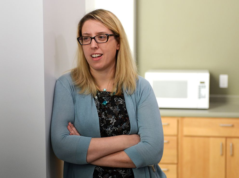 Corrine O'Neill is supportive housing division director for RurAL CAP. (Erik Hill / Alaska Dispatch News)