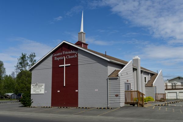 Greater Friendship Baptist Church is located on East 13th Avenue in Anchorage. Photographed June 4, 2020. (Marc Lester / ADN)