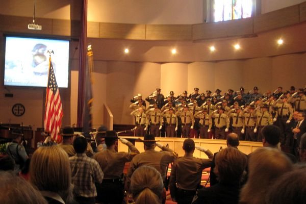Memorial service for VPSO Thomas Madole in Anchorage