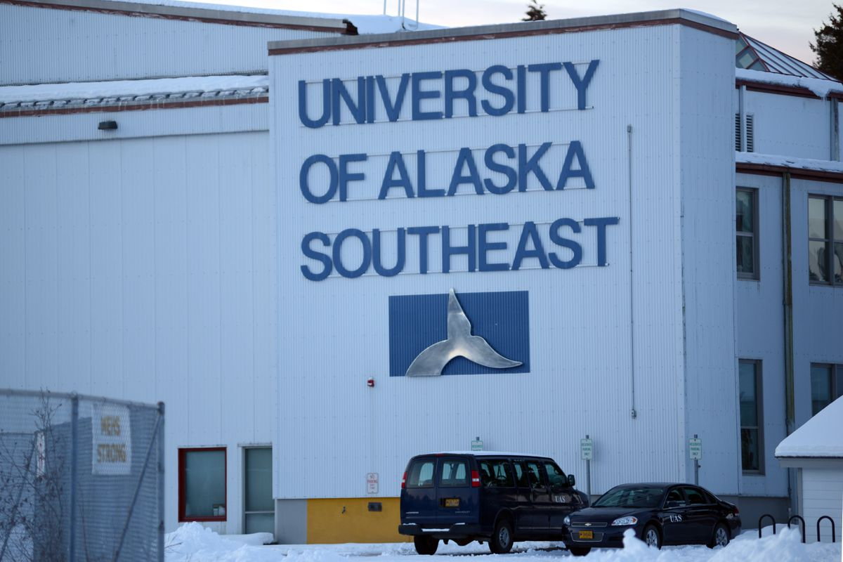The University of Alaska Southeast in Sitka, Jan 12, 2020. (Anne Raup / ADN)