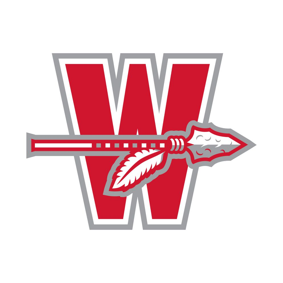 The 'W ' will be used on athletic uniforms. (Design courtesy of Wasilla High School)