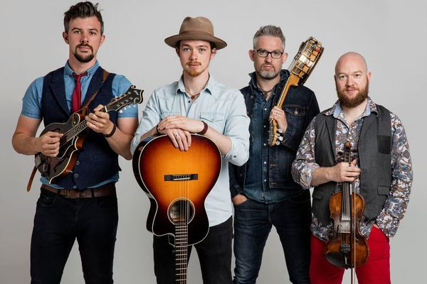 Irish bluegrass sensation We Banjo 3 performs Oct. 5 in the Discovery Theatre, presented by Anchorage Concert Association