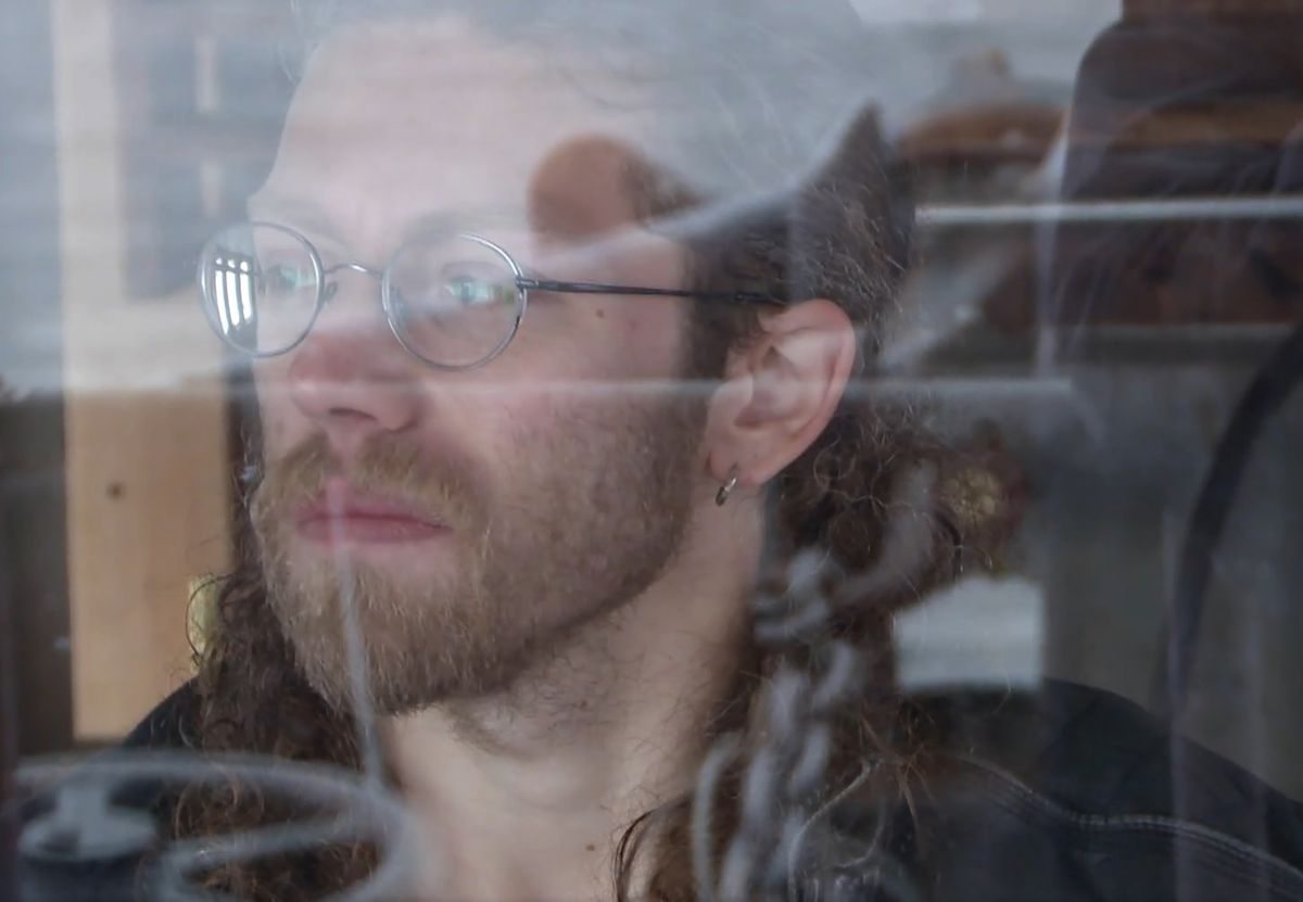 "Bam, second-eldest Brown brother, in a recent episode of ""Alaskan Bush People."" (Screen capture via Discovery.com)"