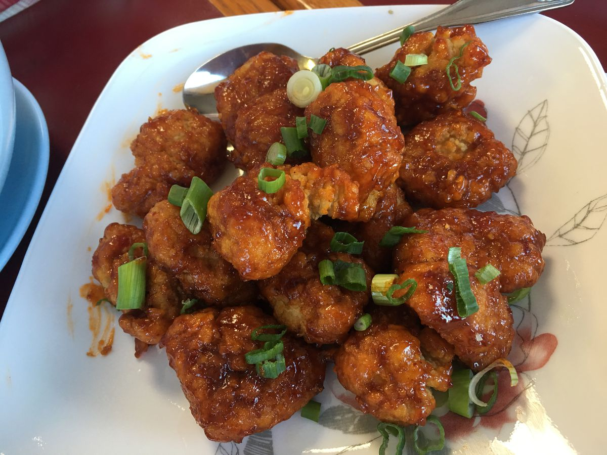 Thai Orchid chicken wings (Photos by Mara Severin)