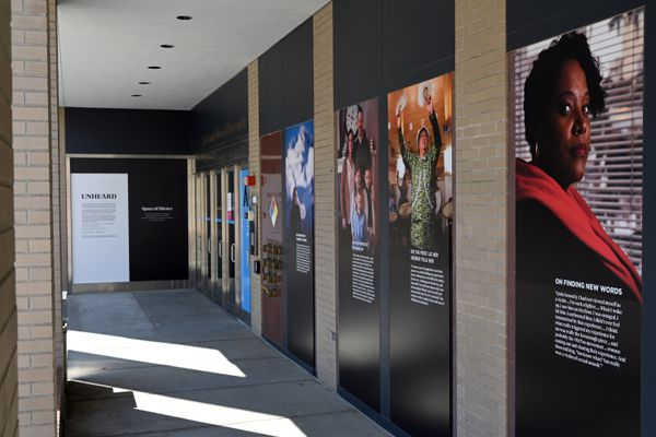 An installation of the Unheard project will be on display at the Anchorage Museum beginning July 1, 2020. (Anne Raup / ADN)