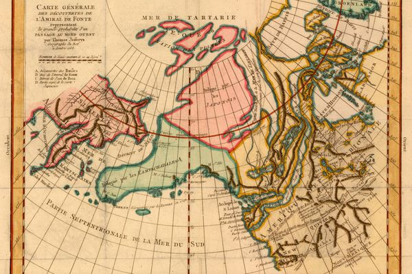 OPINION: As the Arctic continues to open up, large-scale change is inevitable. We must resist the temptation to apply outmoded ways of thinking as we are confronted with a world we can scarcely imagine. (Pictured: A French map from 1772 depicting the contemporary understanding of the North American Arctic.)