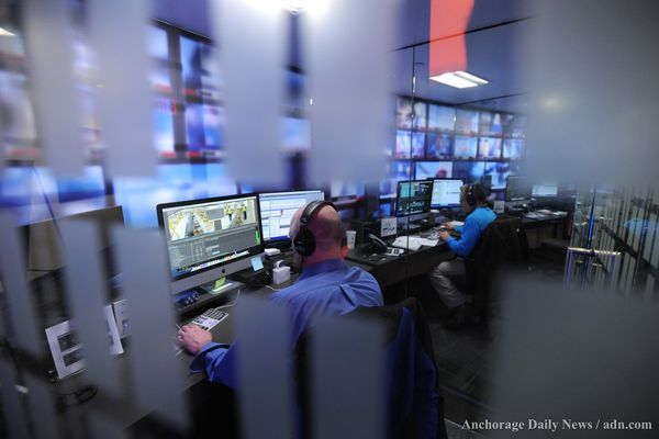 Alaska's first television station KTVA, made its first CBS 11 News broadcast from its new home in East Anchorage on Monday, Dec. 2, 2013, after broadcasting for nearly 50 years from Spenard.