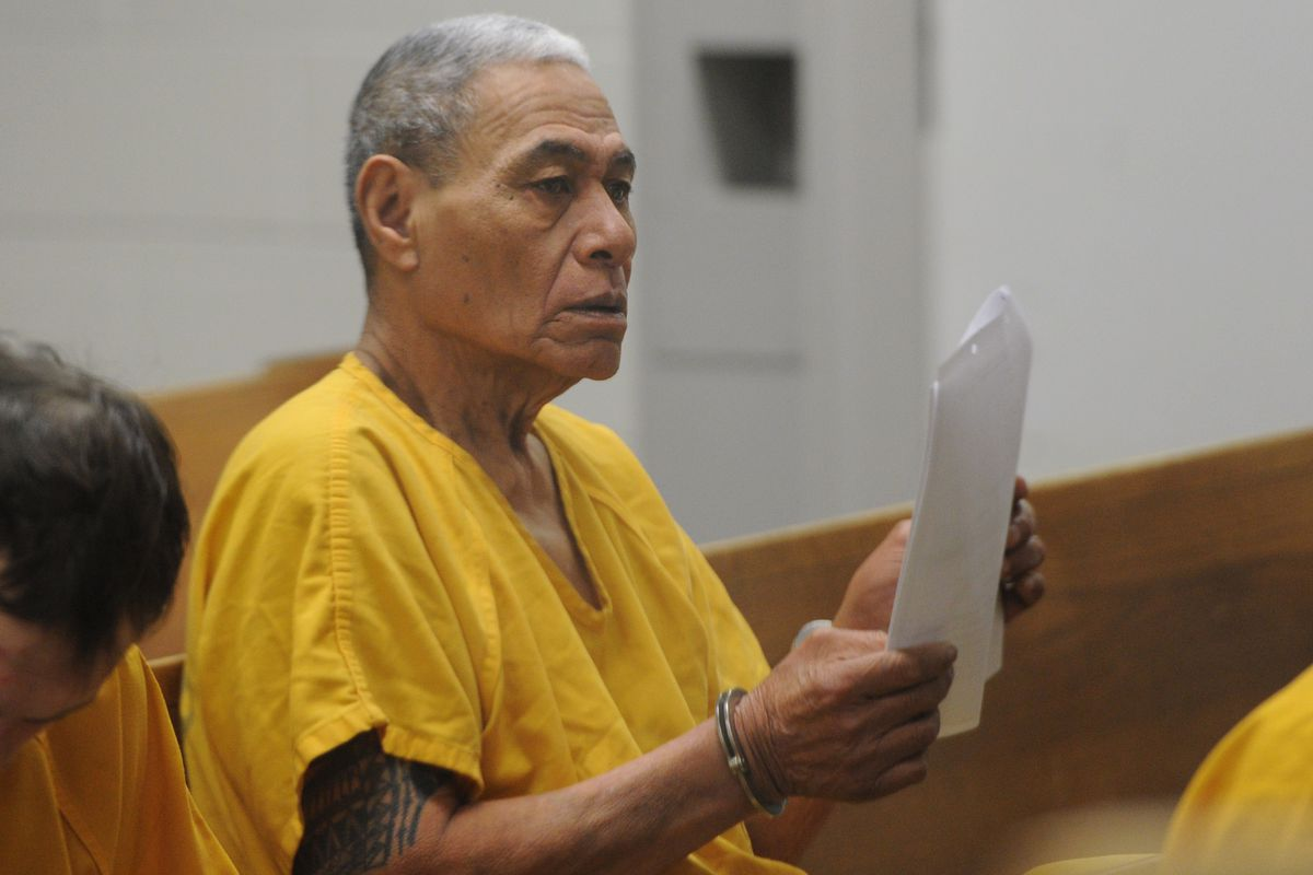 Ruti Malietufa, 71, appeared in court at the Anchorage Correctional Complex on Monday, Nov. 12, 2018. (Bill Roth / ADN)
