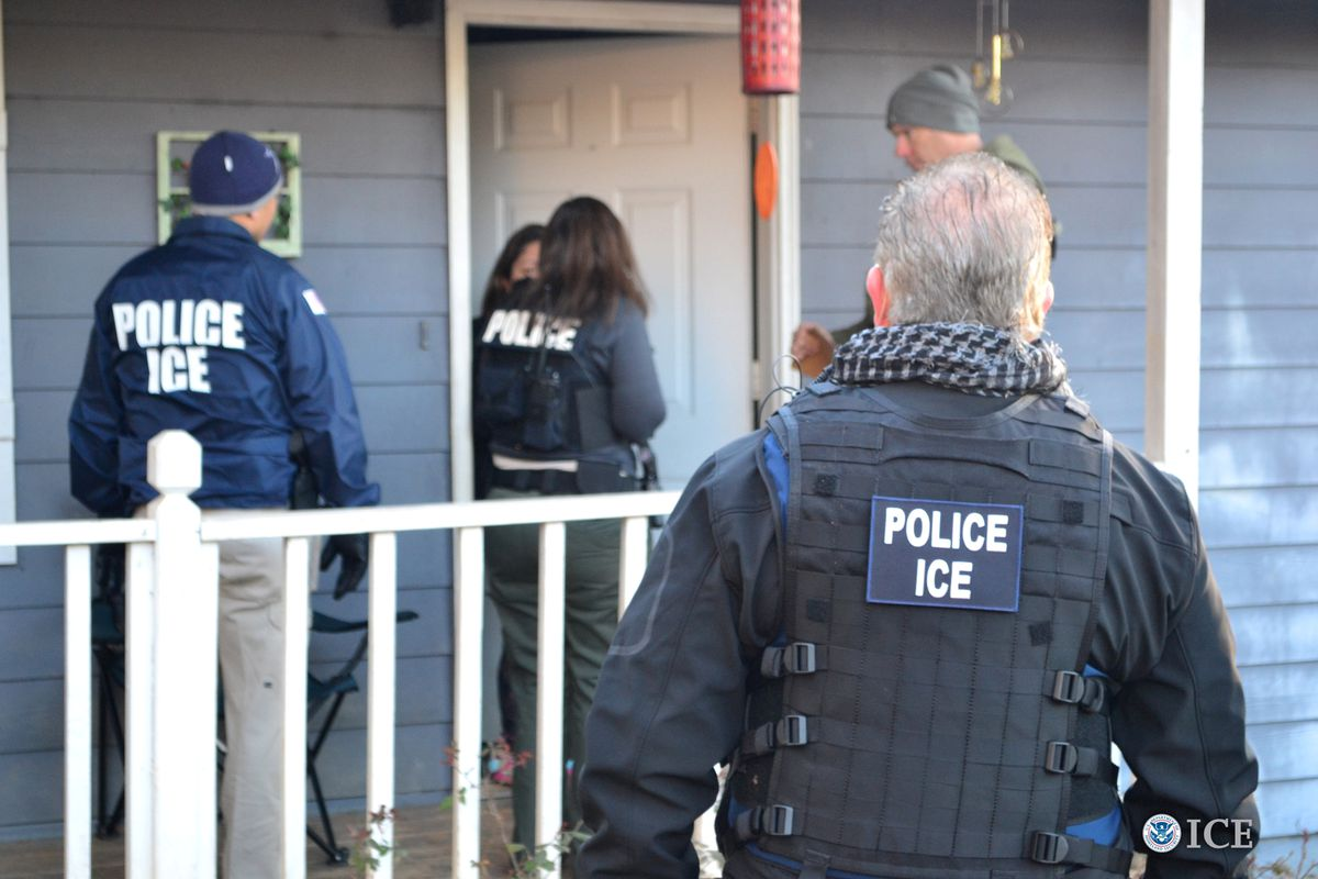 Federal agents conduct sweeping immigration enforcement raids in ...