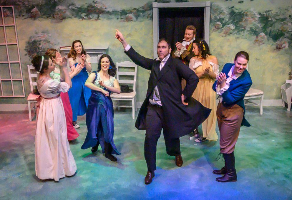 Cyrano's Theatre Company's production of 'Emma ' (Photo by Frank Flavin)