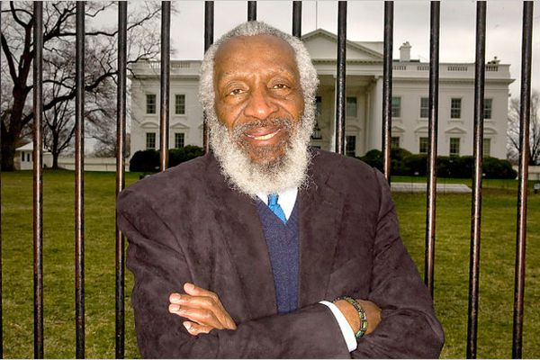 Dick Gregory. (The New York Times)