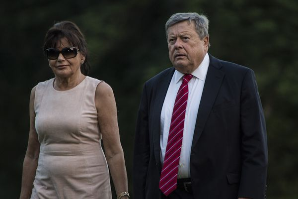 Amalija and Viktor Knavs, parents of first lady Melania Trump, obtained green cards to reside permanently in the United States. MUST CREDIT: Washington Post photo by Jabin Botsford